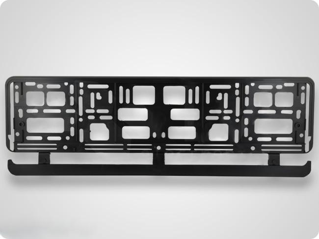2 x kennzeichenhalter eu kfz halter halterung kennzeichen. Black Bedroom Furniture Sets. Home Design Ideas