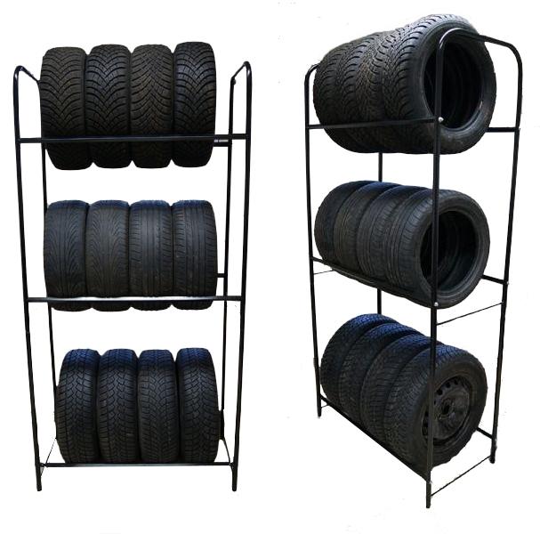 reifenst nder reifenregal reifenhalter felgenregal 12. Black Bedroom Furniture Sets. Home Design Ideas