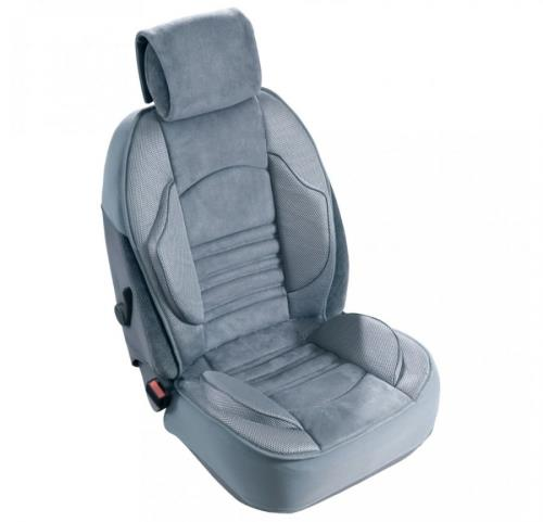 cover for car seat with lumbar support grand confort protection seat cover ebay. Black Bedroom Furniture Sets. Home Design Ideas