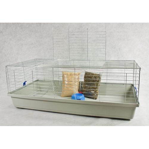 xxl k fig f r kaninchen meerschweinchen 120x60x43. Black Bedroom Furniture Sets. Home Design Ideas