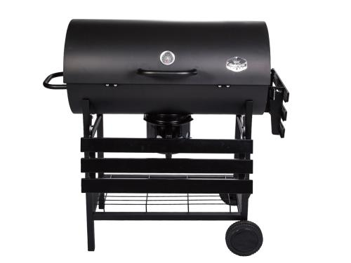 barbecue grill bbq holzkohlegrill grillwagen garten grillwagen mit r dern deckel ebay. Black Bedroom Furniture Sets. Home Design Ideas