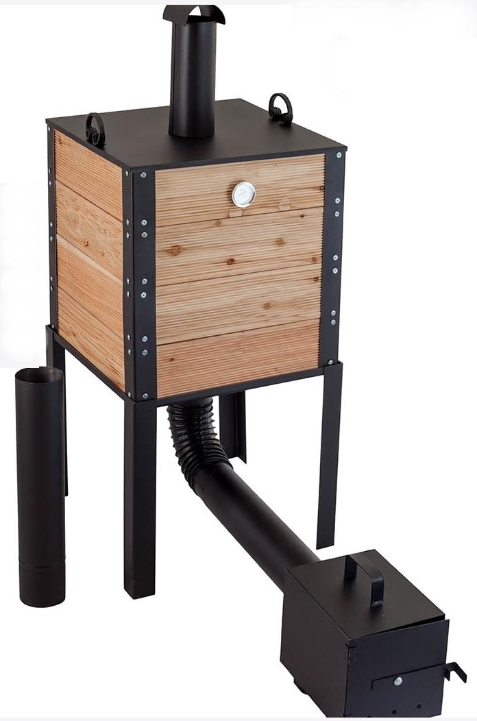 r ucherei holz r ucherofen kamin garten fleisch fisch. Black Bedroom Furniture Sets. Home Design Ideas