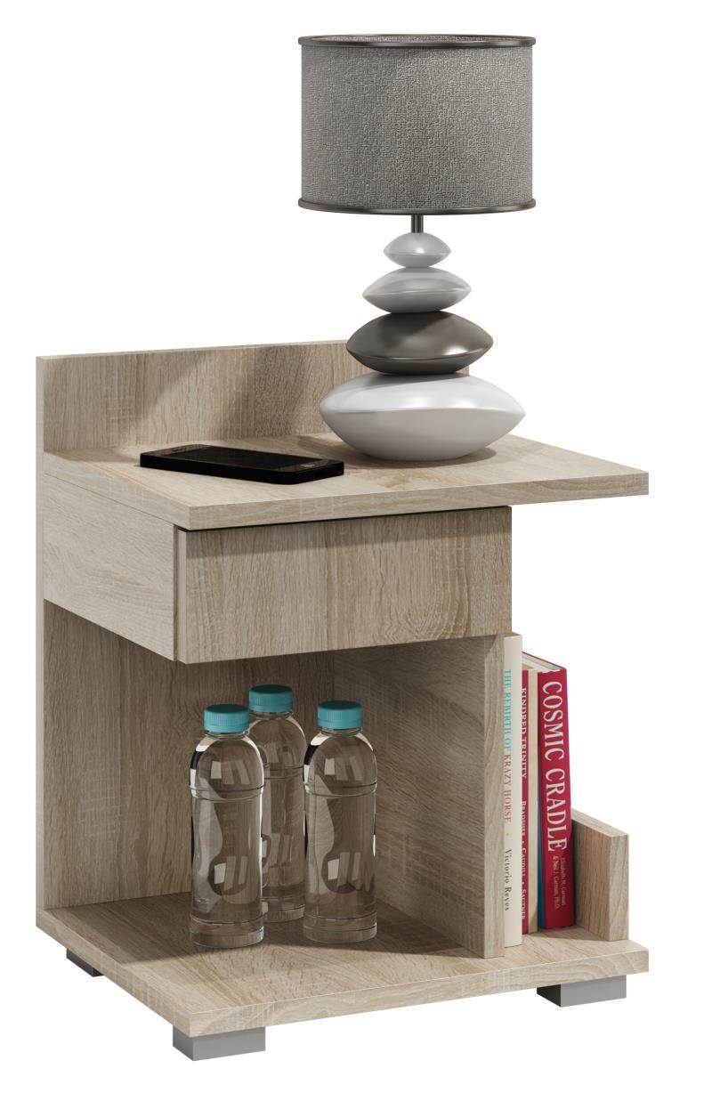 nachtschrank nachtkosole nachttisch nachtschr nkchen beistelltisch neu nacht ebay. Black Bedroom Furniture Sets. Home Design Ideas