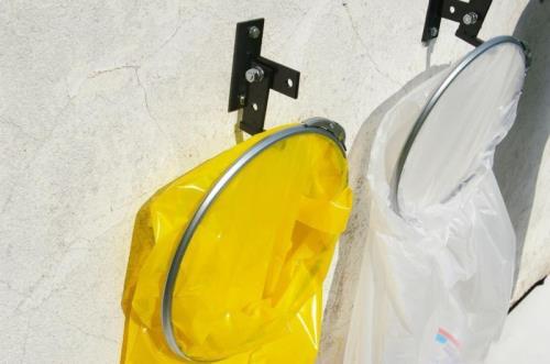 Müllsackständer Sack Wandhalterung Müllbeutelständer Abfalleimer Sackhalter